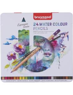 Lápices acuarelables Bruynzeel 24 colores