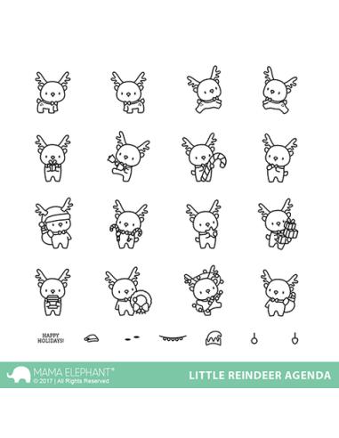 Little Reindeer agenda