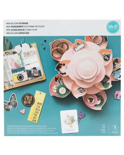 We R Mini Bloom Storage-Pink