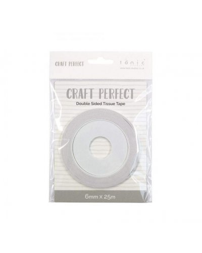cinta doble craft perfect, 6mm