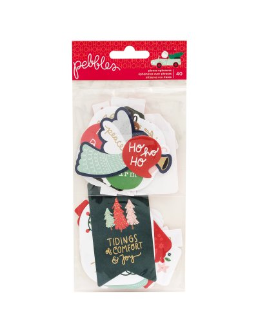 Pegatinas libro, Pebbles, Merry Little Christmas