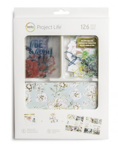 Project life Value Kit, gold Foil Heidi Swaap