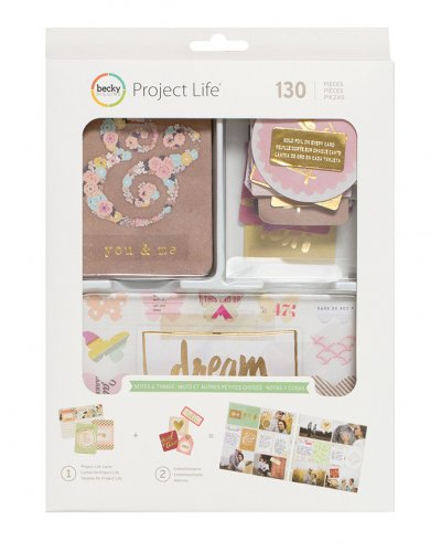 Project life Value Kit , Notes and Thing