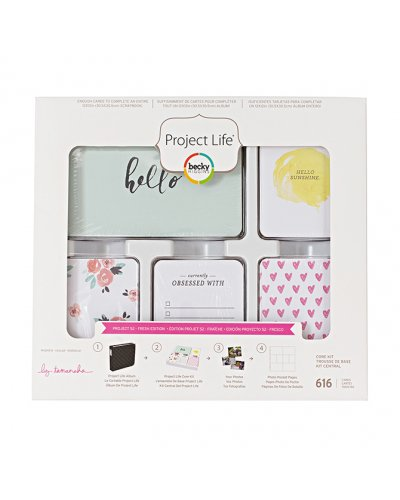 Project life Core Kit, Fresh Edition