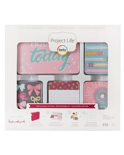 Project life Core Kit, Dear Lizzy Neapolitan