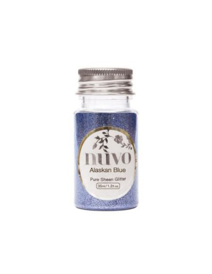 Nuvo Pure Sheen, Glitter, Alaskan Blue