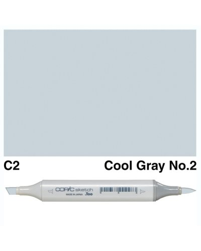 Copic Sketch C1 Cool Gray 1