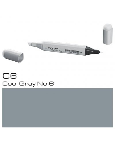 Copic Sketch C4, Cool Gray 4