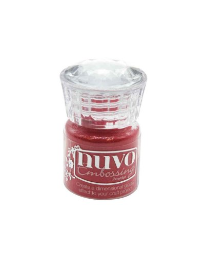 "Nuvo, Glitter Embossing Powder ""Sportscar Red"""