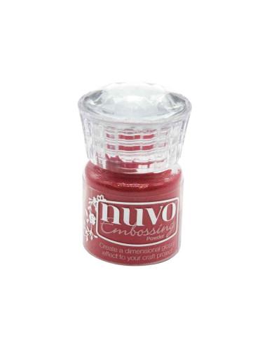 "Nuvo, Glitter Embossing Powder ""Sportscar Red"""