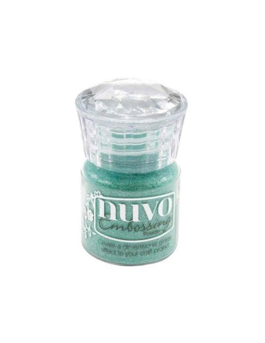 "Nuvo, Glitter Embossing Powder ""Ocean Sparkle"""