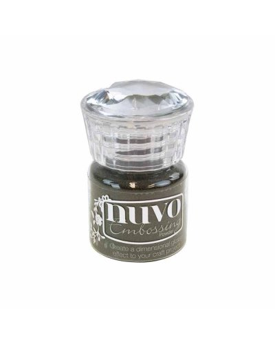 "Nuvo, Glitter Embossing Powder ""Hot Chocolate"""