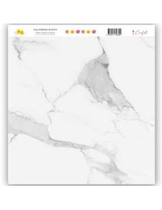 """Hule Plastificado """"Mármol Blanco"""" (30x30 cm) Serendipia Cocoloko"""