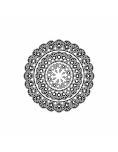 Set 3 troqueles Thinlits Zag forma Copos de nieve, Misskuty