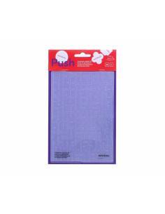 "Carpeta de Emboss PUSH ""Grietas"" 12,7 X 17,8 cm Misskuty"