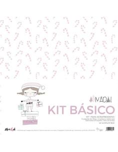"""Kit 12"""" básico Alúa Cid, Nadal"""