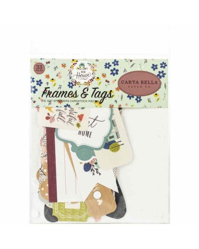 Tags and frames, Our House de Cartabella