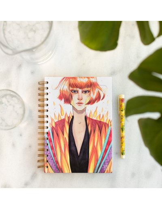 Cuaderno Esther Gili , Fuego