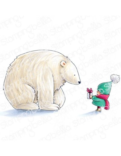 Sello Stampingbella Bundle with polar bear