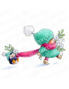 Sello Stampingbella Bundle with penguin