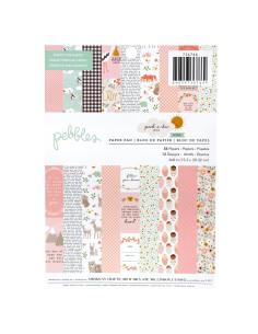 "Pad 6x8"" Pebbles, Peek a Boo, girl"