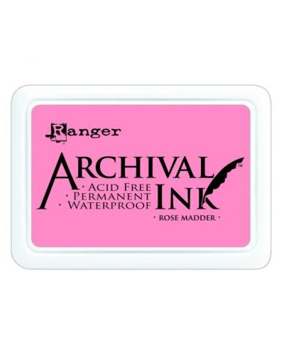 Tinta Archival Rose Madder