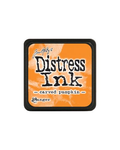 Tinta Mini Distress Carved Pumpkin