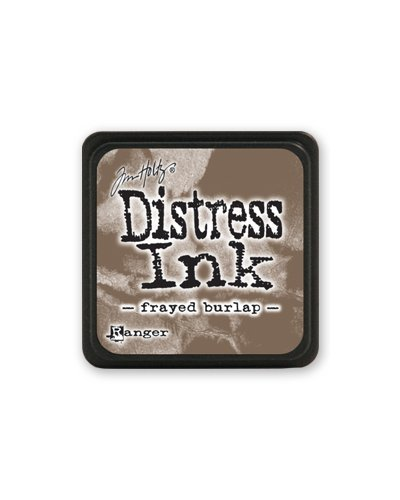 Tinta Mini Distress frayed Burlap