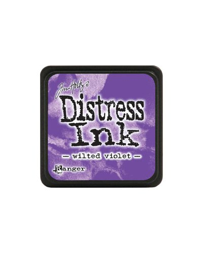 Tinta Mini Distress Wilted Violet