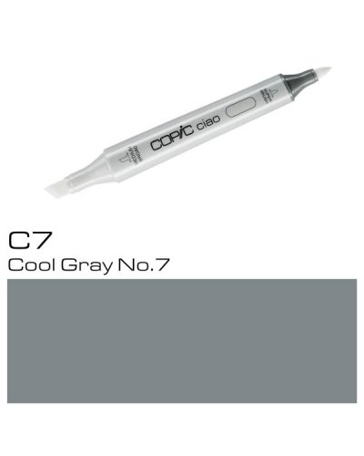 Copic CIAO C7 Cool Gray