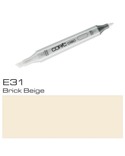 Copic CIAO E31 Brick Beige