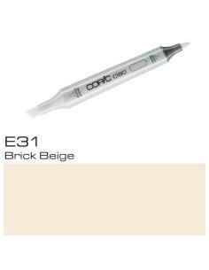 Copic CIAO E31 Brick Beige