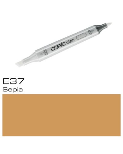 Copic CIAO E37 Sepia