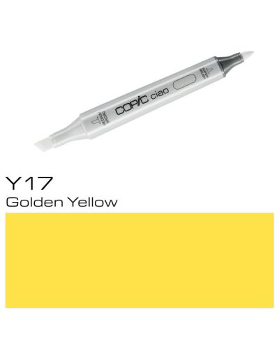 Copic CIAO Y17 Golden Yellow