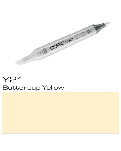 Copic CIAO Y21 Buttercup Yellow