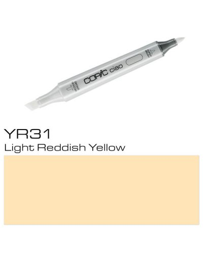 Copic CIAO YR31 Light Reddish Yellow
