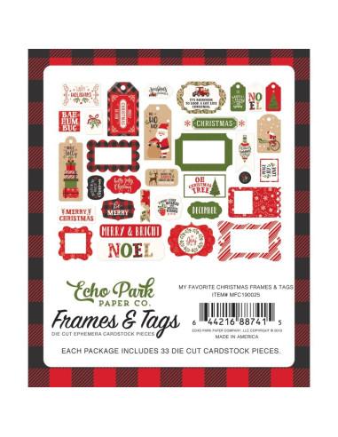 "Pegatinas 12"" Echopark, My Favorite Christmas, colores sólidos"