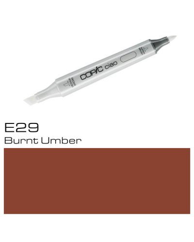 Copic CIAO E29 Burnt Umber