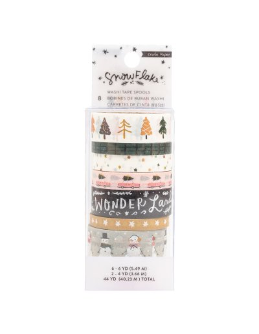 Washi tape Snowflake,