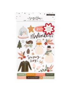Libro pegatinas Snowflake