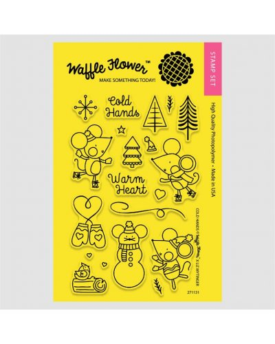 Sello Waffle-Flower Cold Hands
