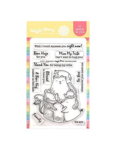 Sello Waffle-Flower Bear Hugs