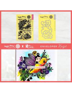 Combo Waffle-Flower Envelopers Hugs