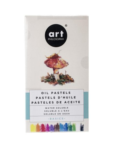 Prima Art Philosophy watercolor oil pastels