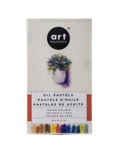 Prima Art Philosophy watercolor oil pastels Rustic