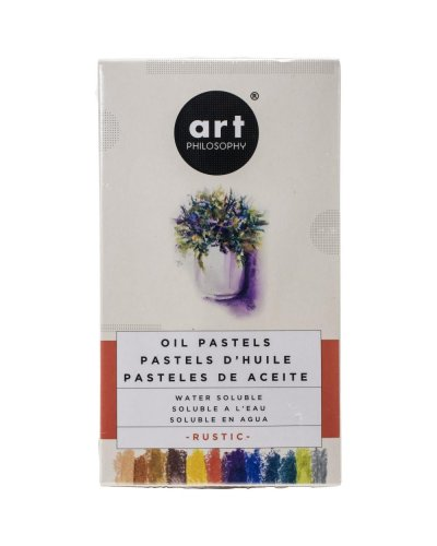 Prima Art Philosophy watercolor oil pastels Rustic