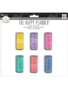 Happy planner anillas mini 66 unid