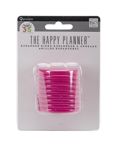 Happy planner anillas rosas 1,75""