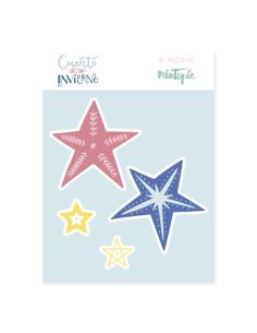 Troquel Mintopia Estrella decoradas