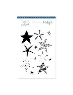 Sello Mintopía Estrellas decoradas